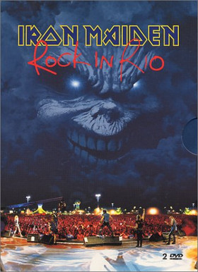 Iron Maiden - Rock In Rio CD (album) cover
