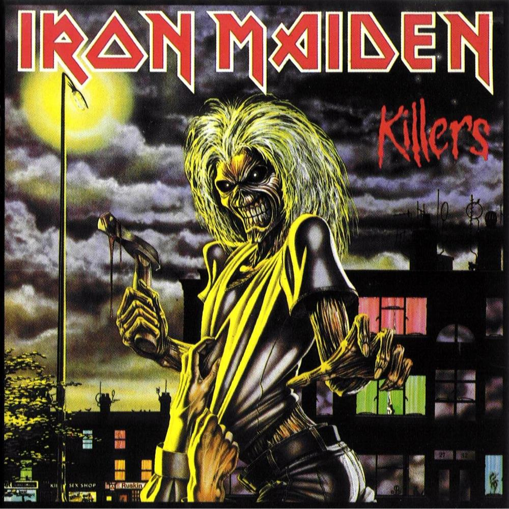 Iron Maiden - Killers CD (album) cover