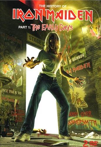 Iron Maiden - The History of Iron Maiden Part 1: The Early Days CD (album) cover