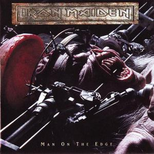 Iron Maiden Man on the Edge album cover