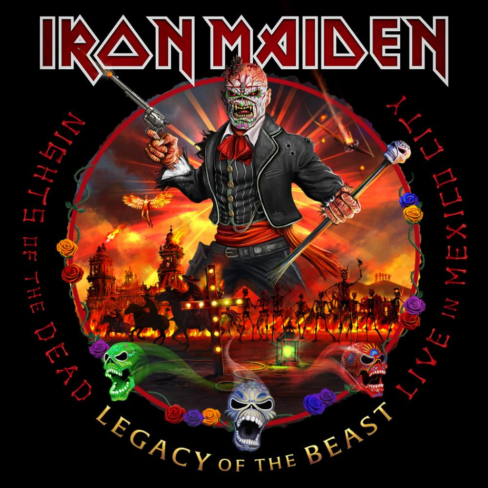 Iron Maiden - Nights of the Dead, Legacy of the Beast: Live in Mexico CD (album) cover