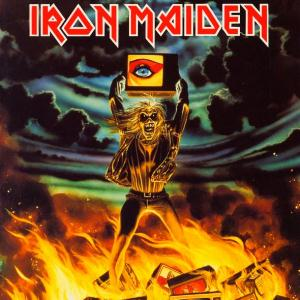 Iron Maiden Holy Smoke album cover