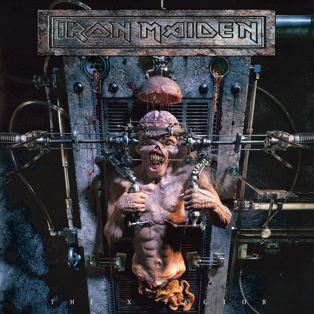 Iron Maiden - The X Factor CD (album) cover