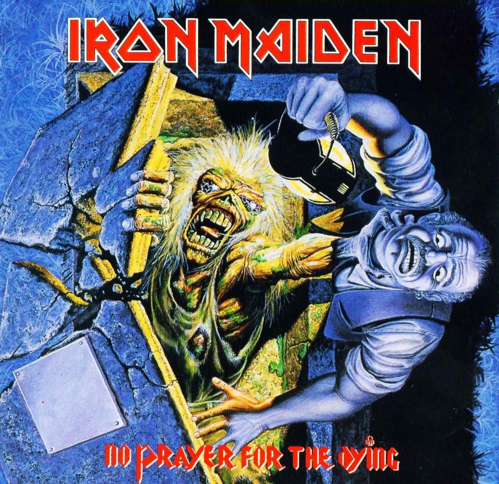 Iron Maiden No Prayer For The Dying album cover