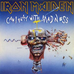 Iron Maiden Can I Play with Madness album cover
