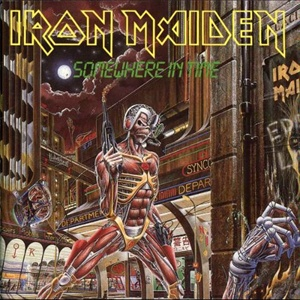 Iron Maiden Somewhere In Time album cover