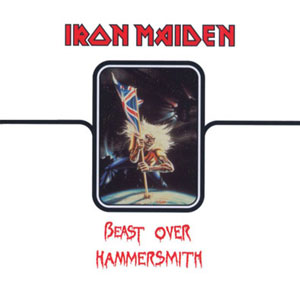 Iron Maiden Beast Over Hammersmith album cover
