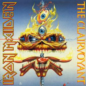 Iron Maiden The Clairvoyant  album cover
