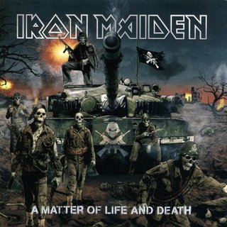 Iron Maiden - A Matter of Life and Death CD (album) cover