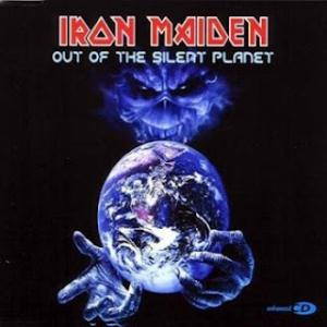 Iron Maiden Out of the Silent Planet  album cover