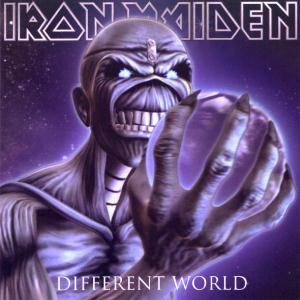 Iron Maiden Different World  album cover