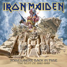 Iron Maiden - Somewhere Back in Time: The Best of 1980 - 1989 CD (album) cover