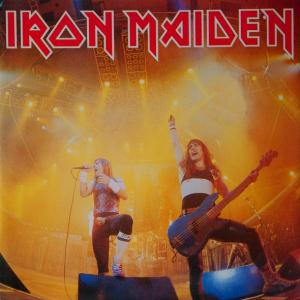 Iron Maiden Running Free 1985 live album cover