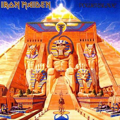 Powerslave by IRON MAIDEN album cover