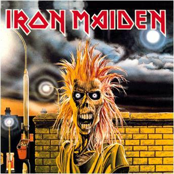 Iron Maiden Iron Maiden album cover