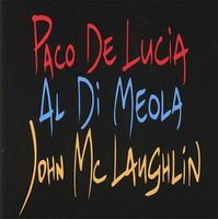 McLaughlin and De Lucia Di Meola The Guitar Trio album cover