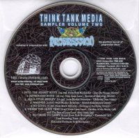 Various Artists (Label Samplers) - Think Tank Media Sampler Volume Two CD (album) cover