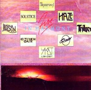 Various Artists (Label Samplers) Fire In Harmony album cover