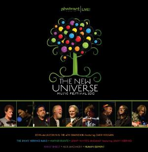 Various Artists (Label Samplers) The New Universe Music Festival 2010 album cover