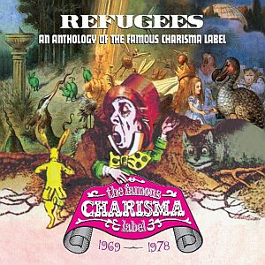 Various Artists (Label Samplers) Refugees: A Charisma Records Anthology 1969-1978  album cover