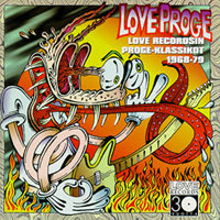 Various Artists (Label Samplers) - Love Proge CD (album) cover