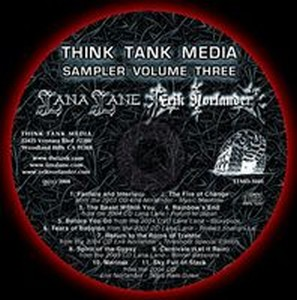 Various Artists (Label Samplers) Think Tank Media Sampler Volume Three album cover