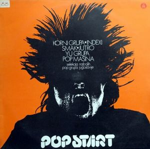 Various Artists (Label Samplers) Pop Start (Selection of the Best Pop Groups in Yugoslavia) album cover
