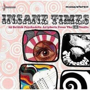 Various Artists (Label Samplers) - Insane Times - 25 British Psychedelic Artefacts From The EMI Vaults CD (album) cover