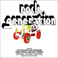 Various Artists (Label Samplers) Rock Generation Volume 8 album cover