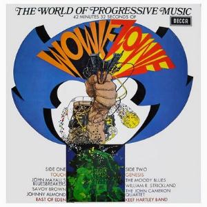 Various Artists (Label Samplers) Wowie Zowie! The World Of Progressive Music album cover