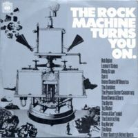 Various Artists (Label Samplers) The Rock Machine Turns You On album cover