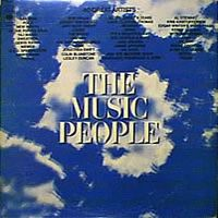 Various Artists (Label Samplers) The Music People album cover