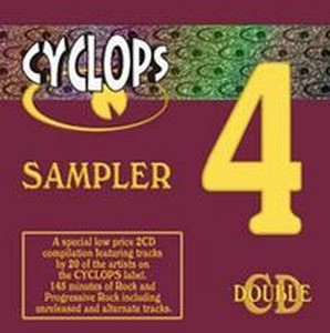 Various Artists (Label Samplers) - Cyclops Sampler 4 CD (album) cover