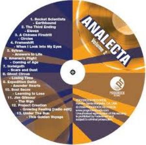Various Artists (Label Samplers) - Analecta Volume 2 CD (album) cover