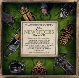 Various Artists (Label Samplers) Classic Rock Society - New Species - Volume XIII album cover