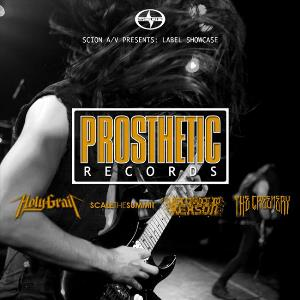 Scion A/V Presents: Label Showcase - Prosthetic Records by VARIOUS ARTISTS (LABEL SAMPLERS) album cover