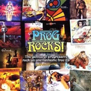 Various Artists (Label Samplers) Prog Rocks! (Magazine sampler) album cover