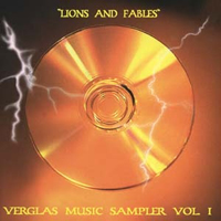 Various Artists (Label Samplers) - Lions & Fables - Verglas Music Sampler vol. 1 CD (album) cover
