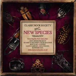 Classic Rock Society: New Species - Volume XIV by Various Artists (Label Samplers) album rcover