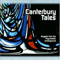 Various Artists (Label Samplers) Canterbury Tales album cover