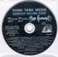 Various Artists (Label Samplers) - Think Tank Media Sampler Volume Four CD (album) cover