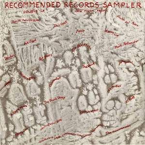 Various Artists (Label Samplers) Recommended Records Sampler (1982) album cover