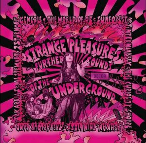 Various Artists (Label Samplers) Strange Pleasures album cover