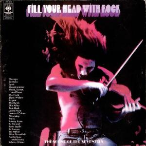 Various Artists (Label Samplers) Fill Your Head With Rock album cover