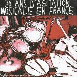 Various Artists (Label Samplers) 30 ans d agitation musicale en France album cover