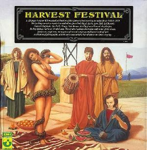Various Artists (Label Samplers) Harvest Festival album cover