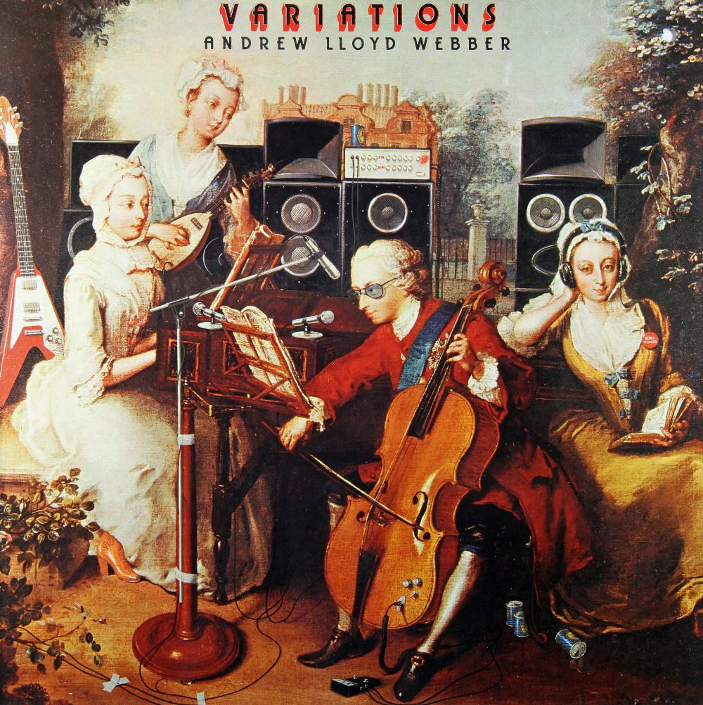 Various Artists (Concept albums & Themed compilations) - Andrew Lloyd Webber: Variations CD (album) cover