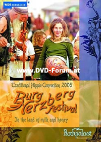 Various Artists (Concept albums & Themed compilations) Traditional Hippie Convention 2005 : Burg Herzberg Festival 2005 album cover