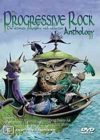 Various Artists (Concept albums & Themed compilations) - Progressive Rock Anthology CD (album) cover