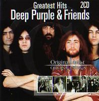Various Artists (Concept albums & Themed compilations) Deep Purple & Friends (greatest Hits) album cover